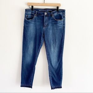Articles of Society Released Hem Skinny Jeans 32